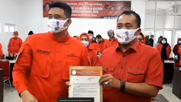 Ada Bobby Nasution, Penyanyi Iyeth Bustami, dan Mantan Pemain Persib Atep di 75 Pasangan PDIP