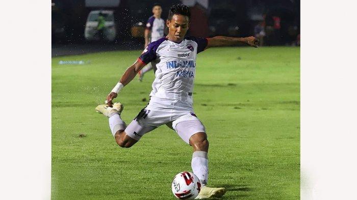 Muhammad Toha memperkuat Persita Tangerang dari Liga 2 hingga lolos Liga 1 musim 2020