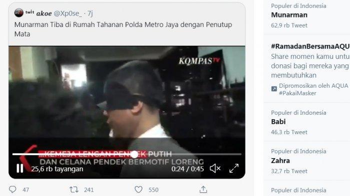 UPDATE Penangkapan Munarman oleh Densus 88 Antiteror, Kuasa Hukum: Insya Allah Ajukan Praperadilan