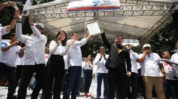Foto : Wow Partai Perindo Sabet Rekor MURI Dalam Rangkaian Kampanyenya