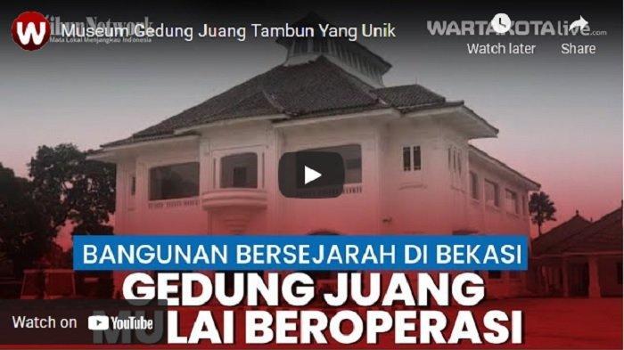 VIDEO Museum Gedung Juang Tambun Kabupaten Bekasi Dibuka untuk Umum