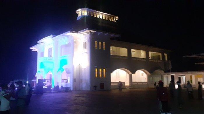 Museum Gedung Juang 45 Tambun di Jalan Sultan Hasanudin, Desa Setiadarma, Kecamatan Tambun Selatan Kabupaten Bekasi, Jawa Barat, diresmikan, Jumat (19/3/2021) malam.
