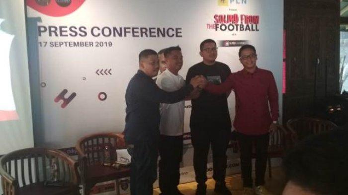 """""""Sound from the Football"""" Libatkan Puluhan Musisi Nasional dan Suporter Sepak Bola"""