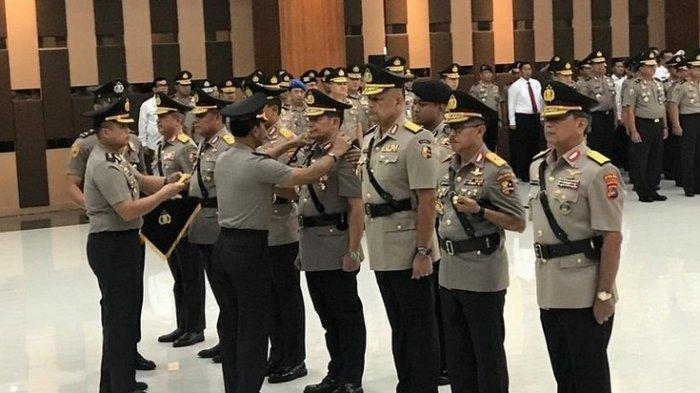 Mutasi Pertama Era Kapolri Jendral Idham Aziz, Firli Bahuri Bintang 3, Argo Yuwono Bintang 1