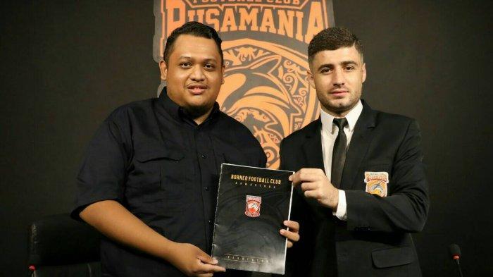 Jelang Liga 1, Masa Peminjaman Gelandang Borneo FC Nuriddin Davronov di FC Istiklol Telah Berakhir