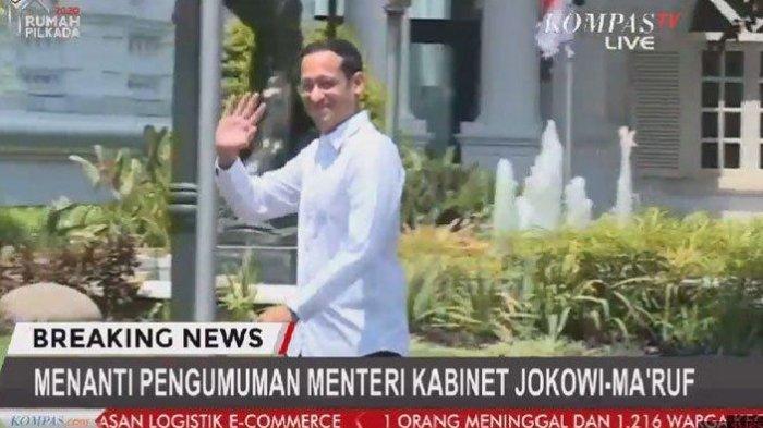 Nadiem Makarim Dipanggil Jokowi, Akan Jadi Menteri Koperasi di Kabinet Jokowi? Ini Profil Lengkapnya