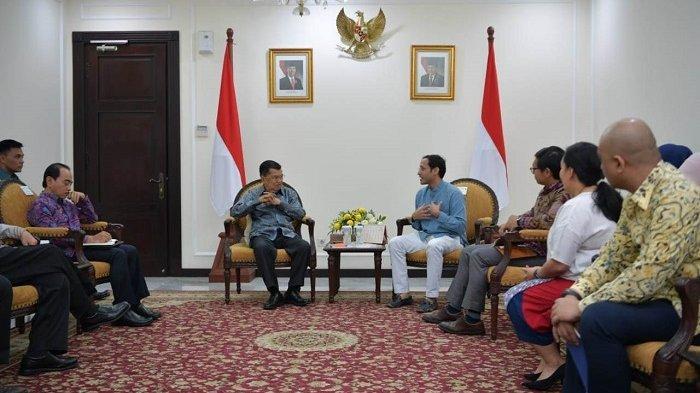 Jusuf Kalla Tak Setuju Bos Go-Jek Nadiem Makarim Masuk Kabinet Jokowi-Maruf Amin, Ini Alasannya