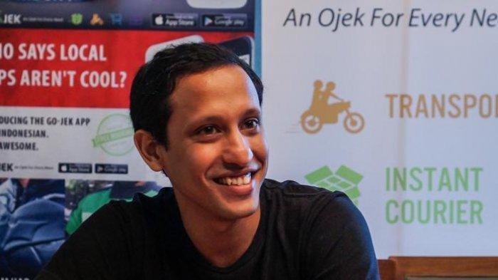 NADIEM Makarim Bongkar Alasan Jokowi Pilih Dirinya dan Bilang: Saya Satu-satunya Milenial di Kabinet