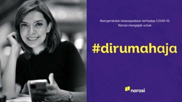 Najwa Shihab Gaungkan Gerakan #dirumahaja, Efektif Tekan Penyebaran Virus Corona