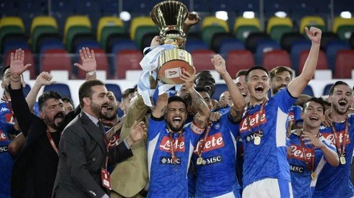 Napoli Lanjutkan Kenang Maradona di Liga Italia: Kenakan Kaos Timnas Argentina, Menang 4-0 Atas Roma