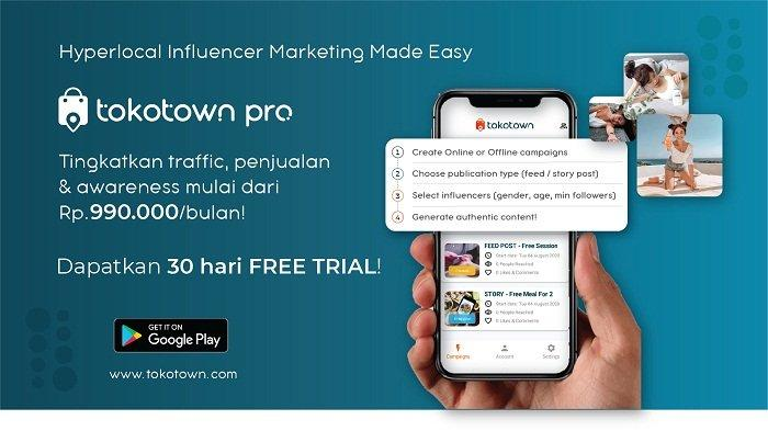 Narratos dan Gojek Luncurkan Aplikasi Tokotown Pro,Hubungkan Pelaku UMKM dengan Content Creator