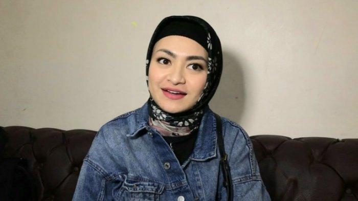 Nathalie Holscher di TransTV, Jalan Kapten Tendean, Mampang Prapatan, Jakarta Selatan, Senin (28/9/2020).