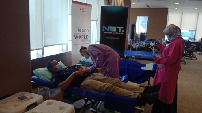 NET Rayakan Ulang Tahun ke-8, Gandeng PMI Pusat Gelar Aksi Donor Darah di Hari Donor Darah Sedunia