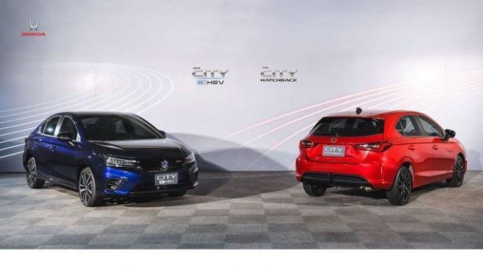 New Honda City e:HEV dan All New Honda City Hatchback
