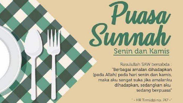 Niat Puasa Senin Kamis Digabung dengan Qadha Puasa Ramadan, Begini Caranya