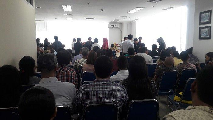 Sudin  Dukcapil Jakarta Pusat Gelar Pencatatan Nikah Massal di Kantor Walikota