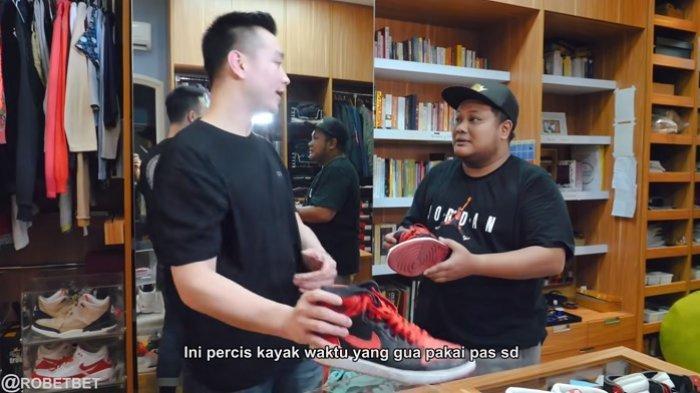 Keponakan Soeharto Tak Punya Sepatu Basket Waktu SD, Akhirnya Dapat Sepatu Ini: Gue Beli Rp 20 Juta