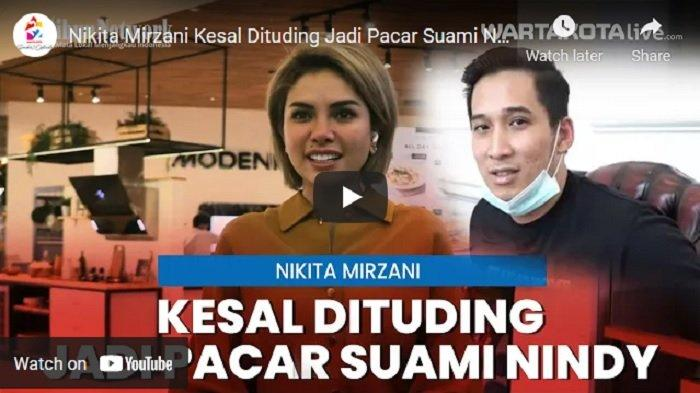 VIDEO Nikita Mirzani Kesal Dituding Jadi Pacar Suami Nindy Ayunda