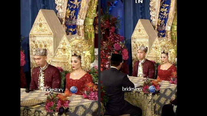 SAH, Nikita Willy dan Indra Priawan Menjadi Suami Istri, Ini Emas Kawin yang Diberikan