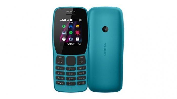 Andalkan Fitur Hiburan, Nokia 110 Tahan buat Ngobrol dari Pagi sampai Sore, Harga Rp 329.000