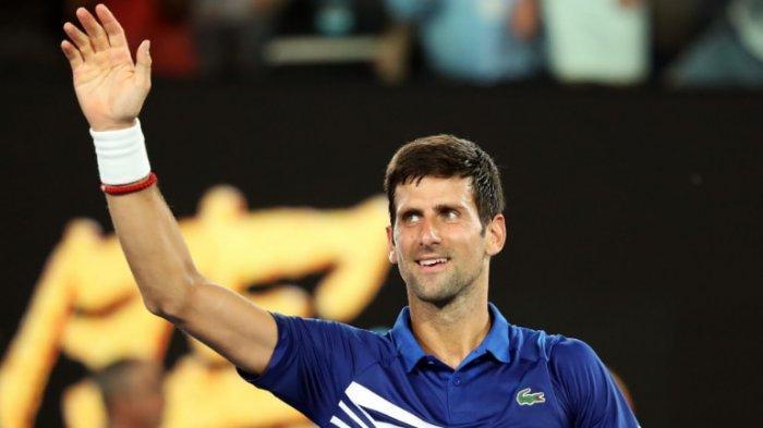 Novak Djokovic Nikmati Laga Perdana di Australia Terbuka