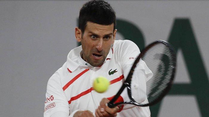Petenis unggulan pertama Novak Djokovic