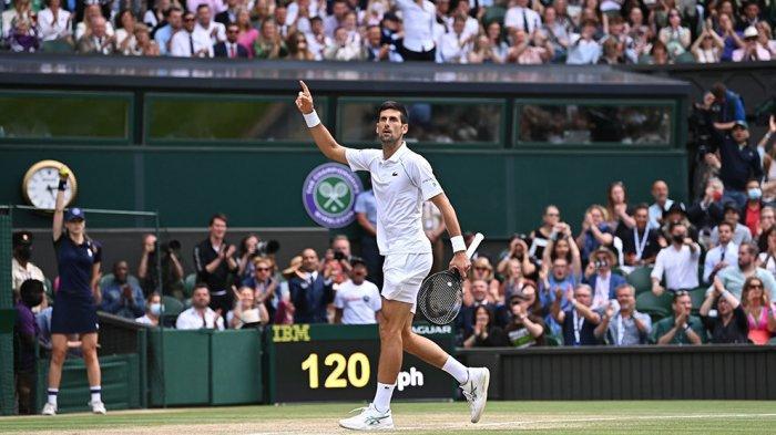 Novak Djokovic Rebut Gelar Keenam Wimbledon Setelah Mengalahkan Matteo Berrettini