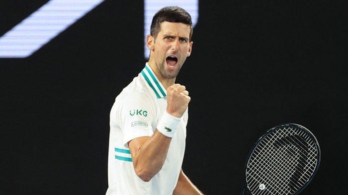 Petenis peringkat 1 dunia Novak Djokovic melaju ke final setelah mengalahkan Aslan Karatsev (Rusia)