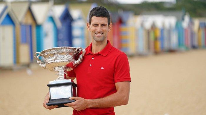 Novak Djokovic Petenis Nomor 1 Dunia, Kisah Cintanya Dengan Australia Open Dalam ATP Highlight Video