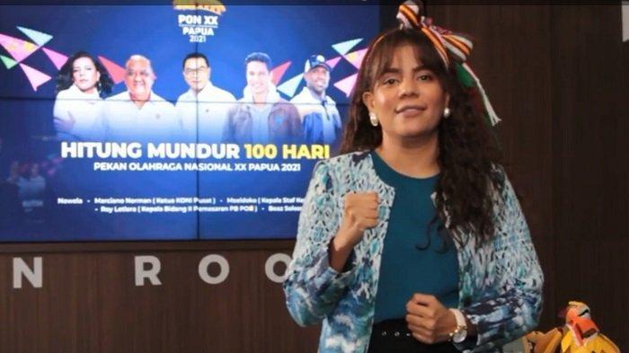 Nowela tak Gentar Hadapi Covid-19, Tetap Gelorakan Semarak PON Papua XX 2021