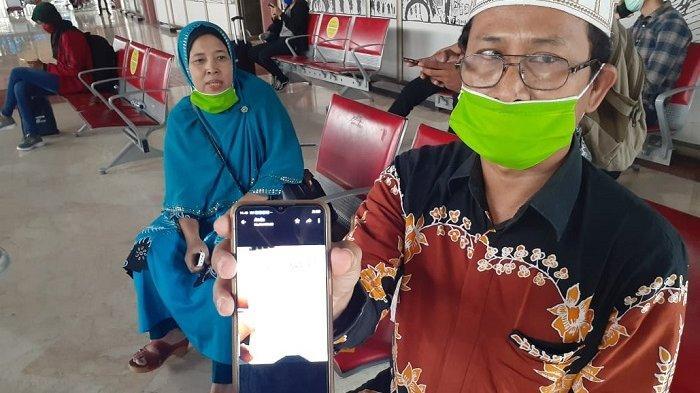 AIR Mata Nunik Tumpah Terjebak di Bandara Soekarno-Hatta, Sedih Mikir 3 Anaknya di Lampung