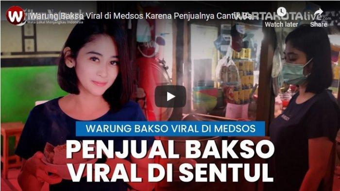 Selain Menu Bakso dan Mi Ayamnya yang Lezat, Penjual Bakso di Sentul Bogor Ini Wow Cantik Jelita