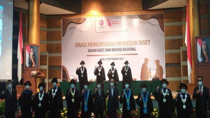 Orasi Pengukuhan Profesor Riset Bidang Teknologi Pascapanen oleh Badan Riset dan Inovasi Nasional (BRIN)