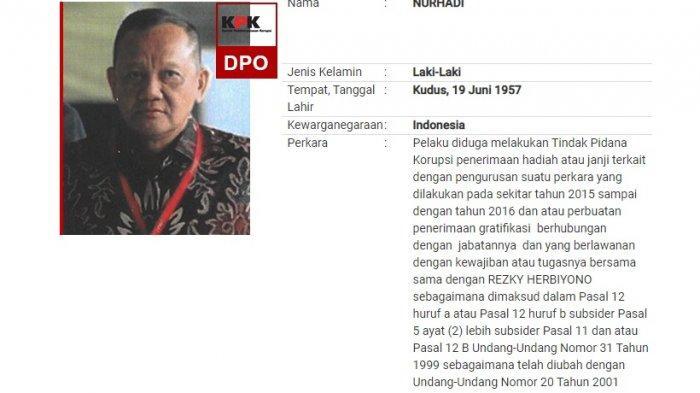 Profil Lengkap Nurhadi, Mantan Sekertaris MA yang Akhirnya Dicokok KPK Bersama Menantunya