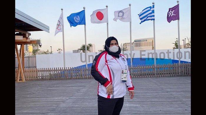 Nurul Akmal Lifter Putri Indonesia Kelas +87 Kg Sore Ini Memperebutkan Medali di Cabor Angkat Besi