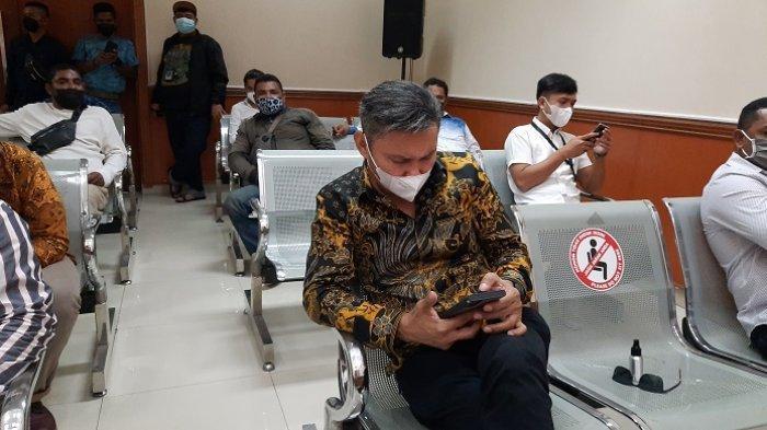 Nus Kei sudah hadir di persidangan John Kei di PN Jakarta Barat, Rabu (24/2/2021)