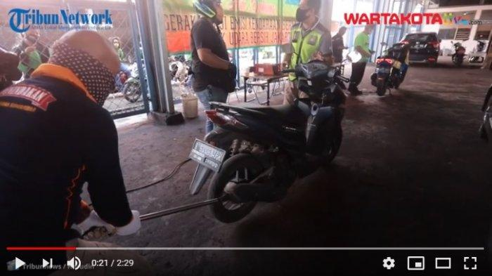 VIDEO Sepeda Motor Wajib Uji Emisi untuk Perpanjang STNK, Rencana Diberlakukan Tahun 2021