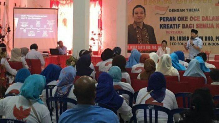 Indra Uno Memerkenalkan OK OCE Sampai Tanah Papua