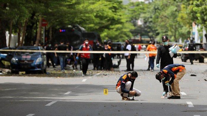 Polisi Bongkar Grup WA Bernama Batalion Iman Usai Bom Makassar, Anggota Lain Masih Diburu