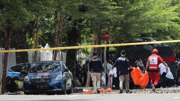 Polri: 99 Teroris Diamankan Setelah Ledakan Bom Gereja Katedral Makassar
