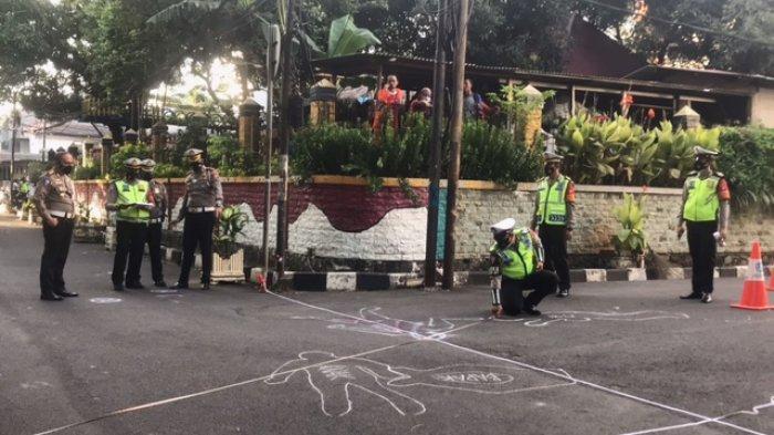 Ditlantas Polda Metro Jaya Gunakan TAA Olah TKP Lokasi Tabrak Lari Satu Keluarga di Kelapa Gading