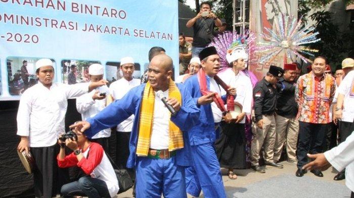 Warga Antusias Menyambut  Festival Ondel-ondel Bintaro
