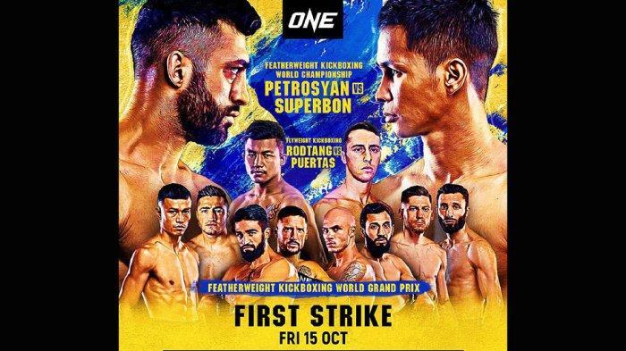 Pertarungan ONE: First Strike akan berlangsung di Singapore Indoor Stadium