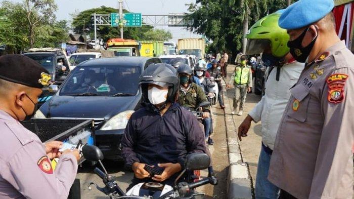 Selama Dua Hari Larangan Mudik 1.500 Kendaraan Diputar Balik, Paling Banyak Pemudik Motor