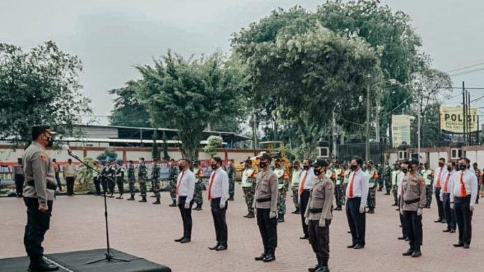 Covid-19 Masih Mewabah, Kapolres Karawang Ingatkan Personelnya Lebih Waspada dan Tidak Boleh Lengah