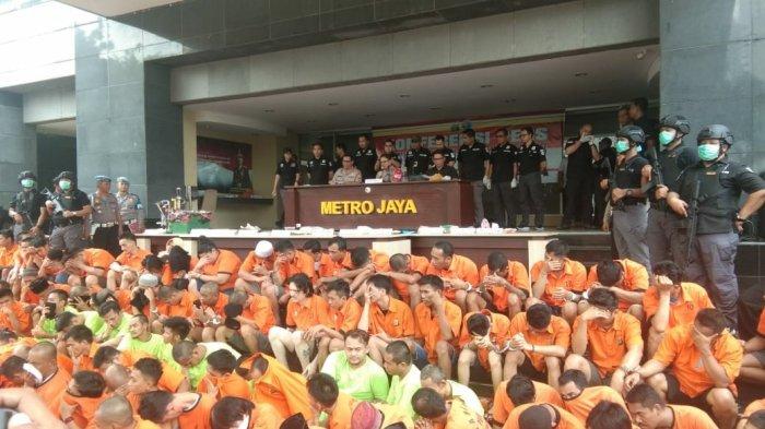 Dua Pekan Operasi Nila Jaya, Polisi Jaring 539 Orang Kasus Narkoba