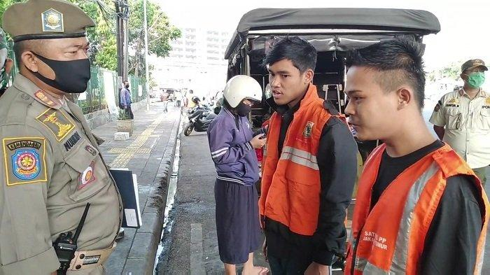 Kesadaran Masyarakat Bahaya Covid-19 Menurun, 40 Orang Terjaring Operasi PSBB Transisi