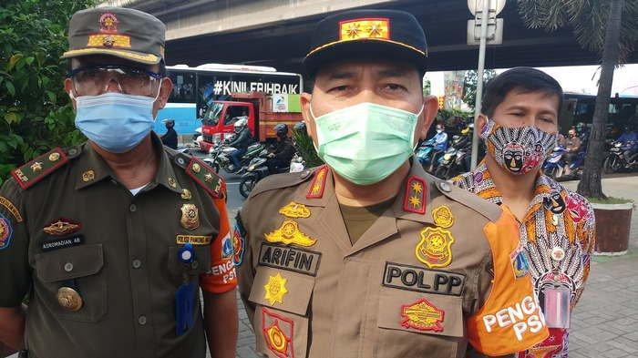 Satpol PP DKI Jakarta: Masih Banyak Warga Ibu Kota Pakai Masker Digantung di Leher dan Dagu