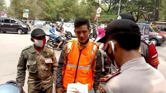 Tidak Pakai Masker, Pemuda di Bekasi Tidak Hafal Teks Pancasila saat Dihukum