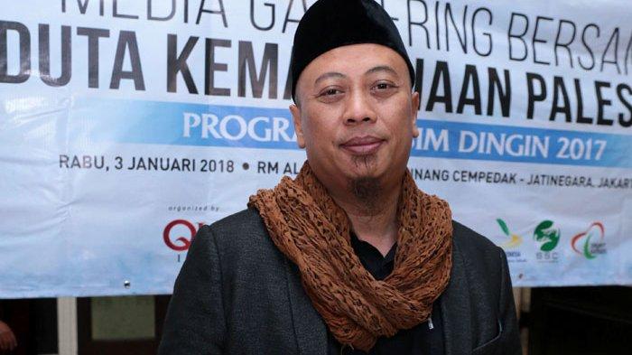 Opick ketika ditemui di Restoran Al Jazeerah, Cipedak Cipinang, Jakarta Timur, Rabu (3/1/2017).